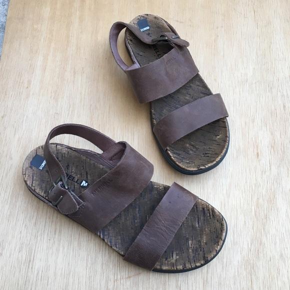 cb02969e44ef Merrell Around Town Luxe Backstrap Sandals. M 5cc53879d948a10b5dcb6123